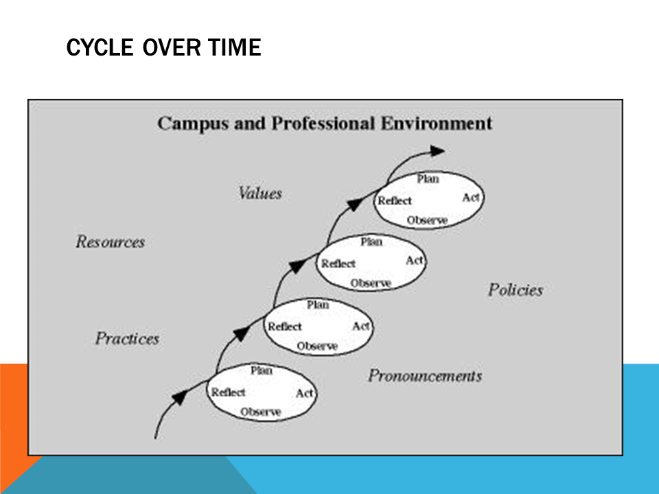 Campus and Professional Environment   Values, resources, practices, policies, pronouncements