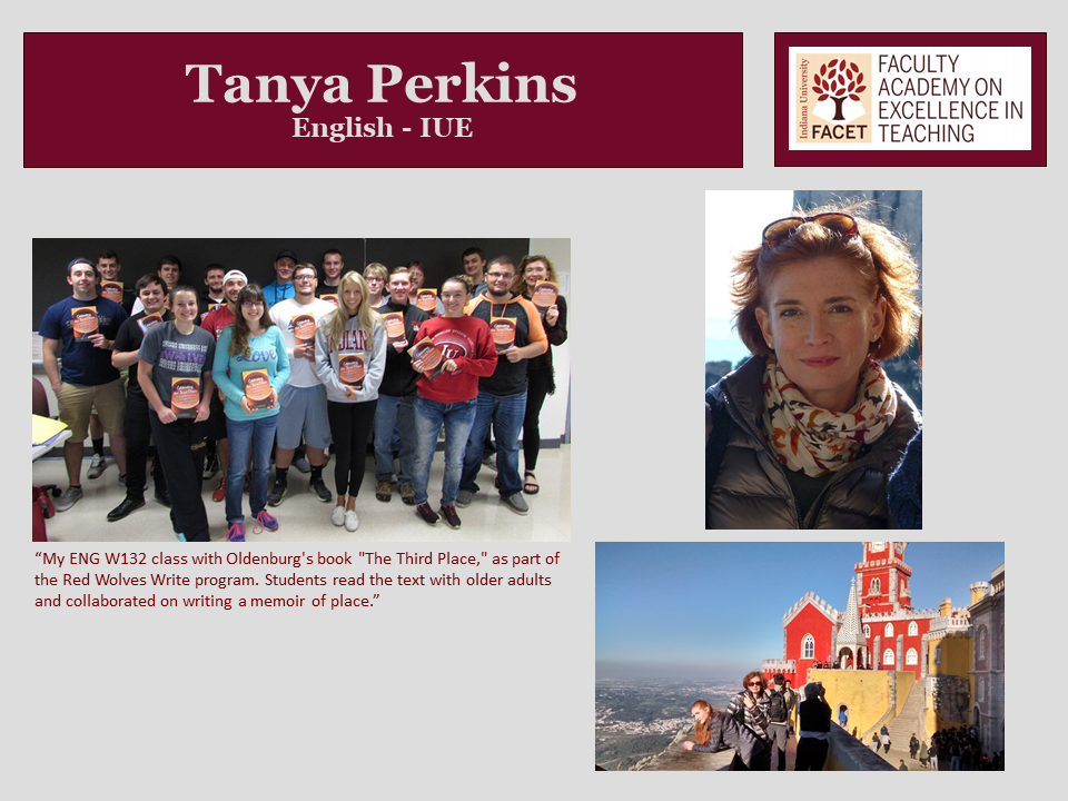 Tanya Perkins, English, IUE