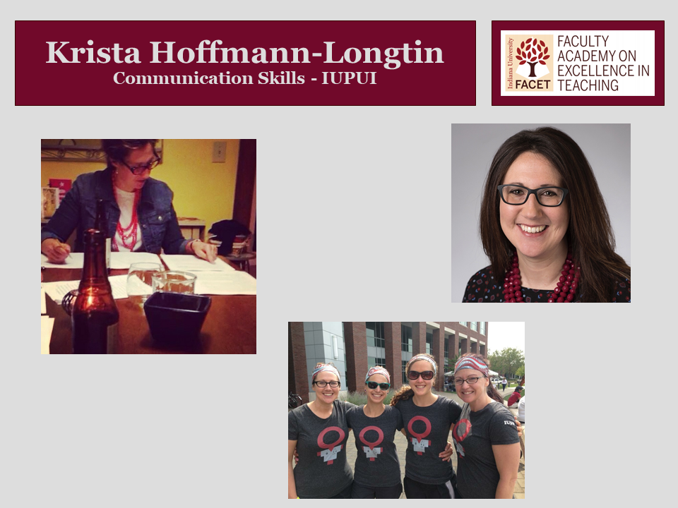 Krista Hoffmann-Longtin, Communication Skills, IUPUI